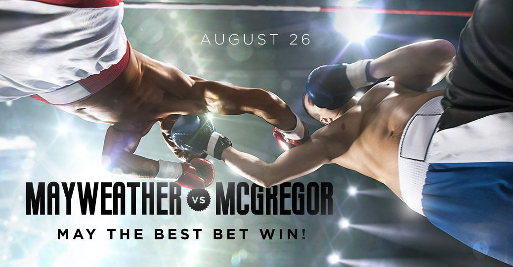 Mayweather vs. McGregor: Place a Knockout Bet on GoodBookey