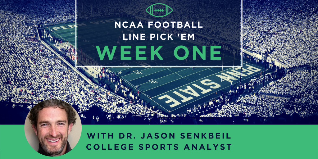 Week One: 15-Team Parlay with Dr. Senkbeil