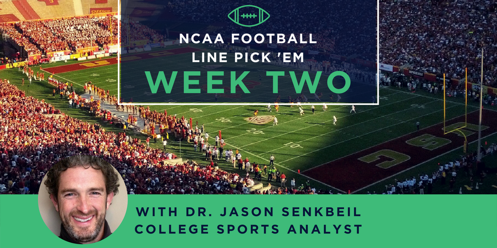 NCAA Football Week Two: Where Will Your Bets Be?